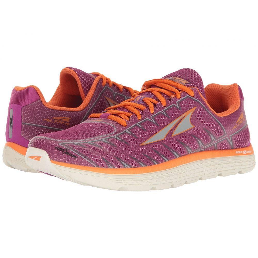 アルトラ レディース ランニング・ウォーキング シューズ・靴【One V3】Purple/Orange, GH ダイレクト d45a0055