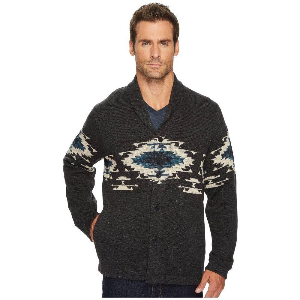 ラッキーブランド メンズ トップス ニット・セーター【Canyon Creek Shawl Sweater】Charcoal