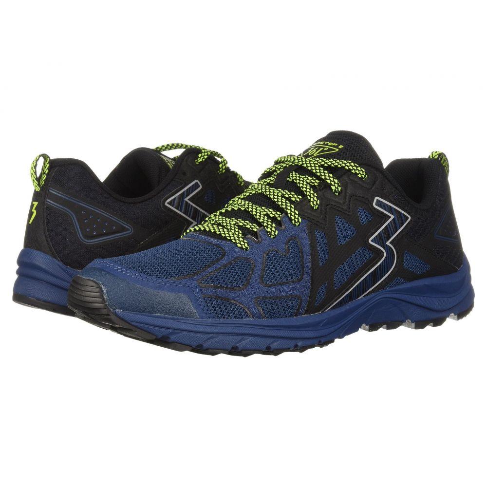 361ディグリーズ メンズ ランニング・ウォーキング シューズ・靴【Overstep 2】Poseidon/Black