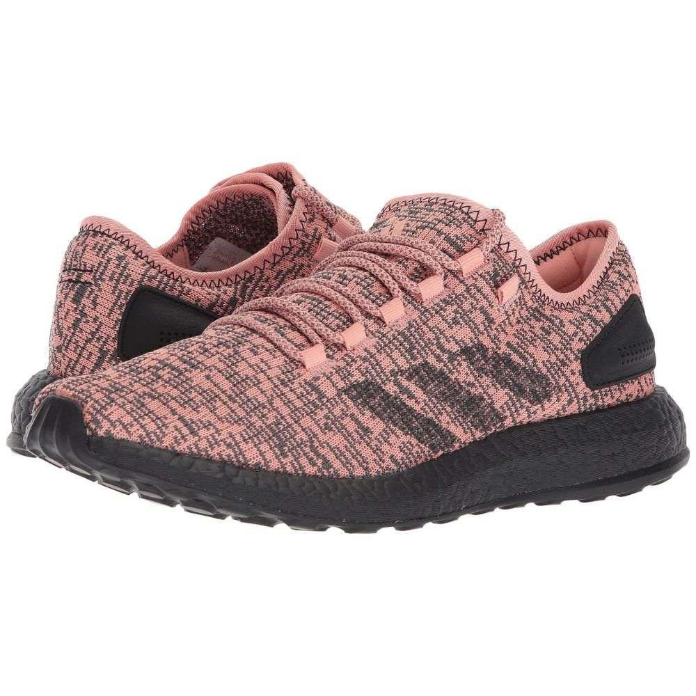 アディダス メンズ ランニング・ウォーキング シューズ・靴【Pureboost】Pink/Black/Black