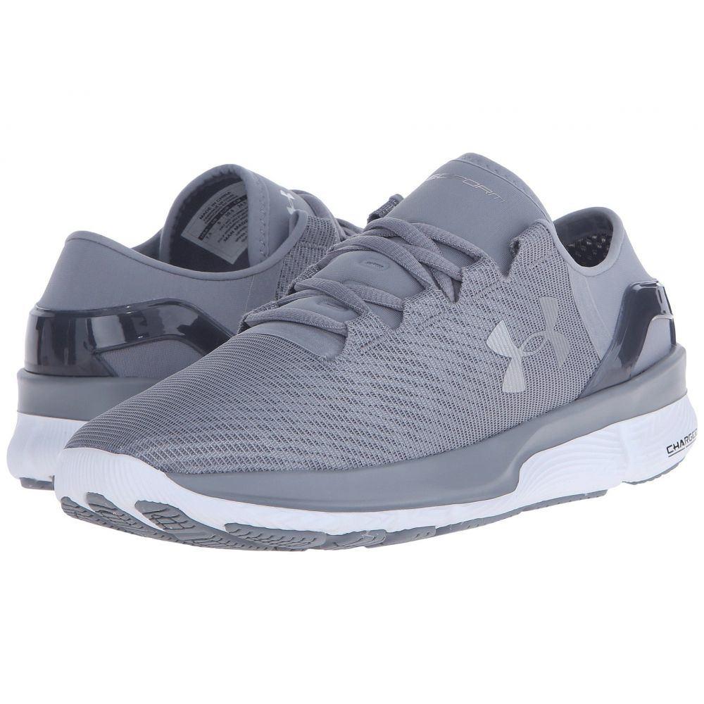 アンダーアーマー レディース ランニング・ウォーキング シューズ・靴【UA Speedform Apollo 2 R】Steel/White/Metallic Silver
