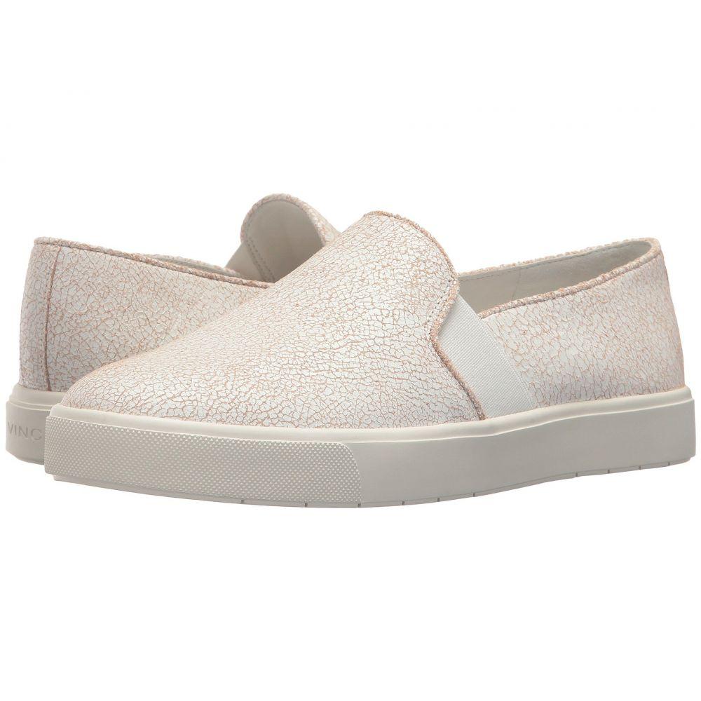 ヴィンス レディース シューズ・靴 スニーカー【Blair-12】White Cracked Leather