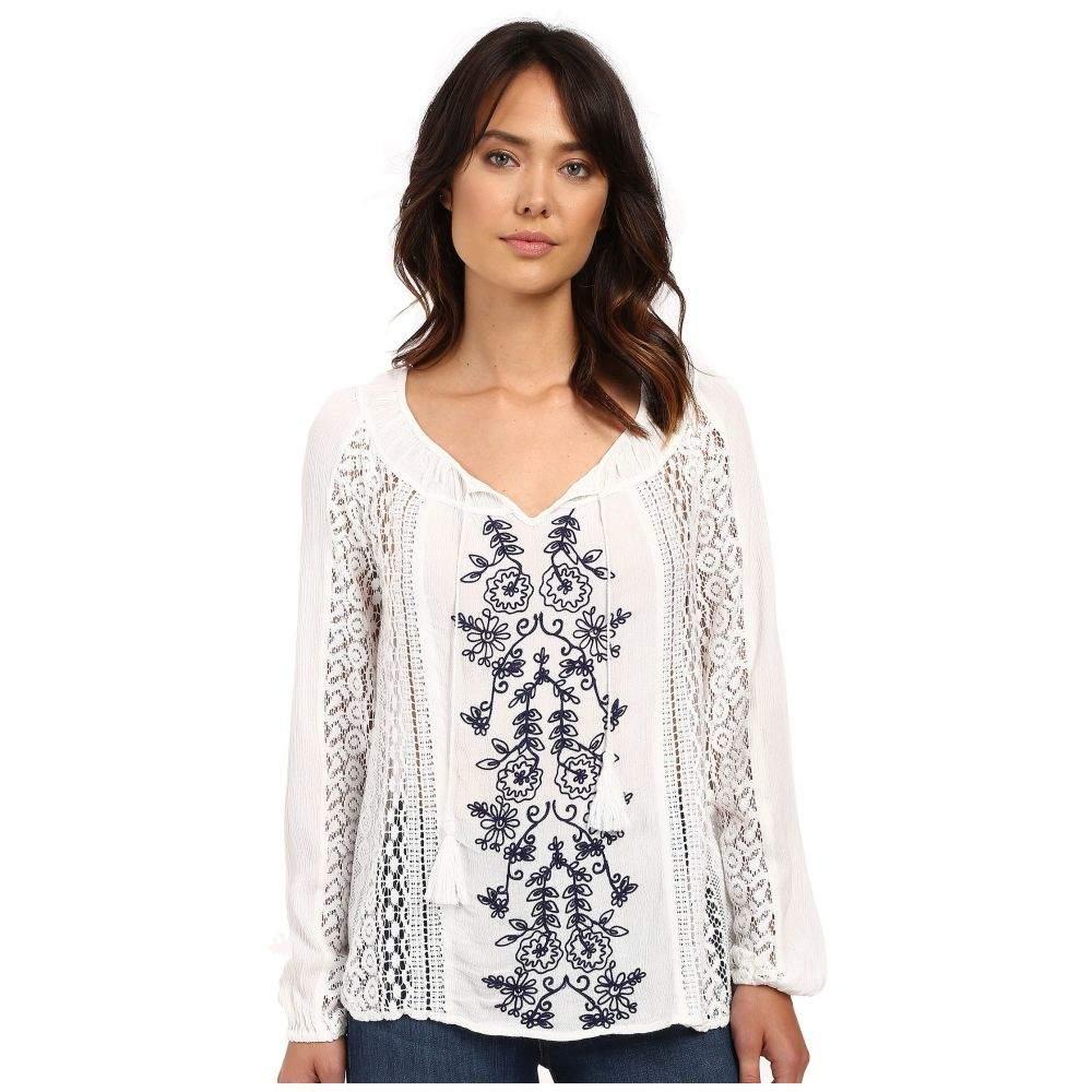 オニール レディース Embroidered トップス トップス ブラウス・シャツ【Holland Sleeved Woven Embroidered Sleeved Top】White, SOAR(そあ)ショップ:71ebdf6e --- jphupkens.be
