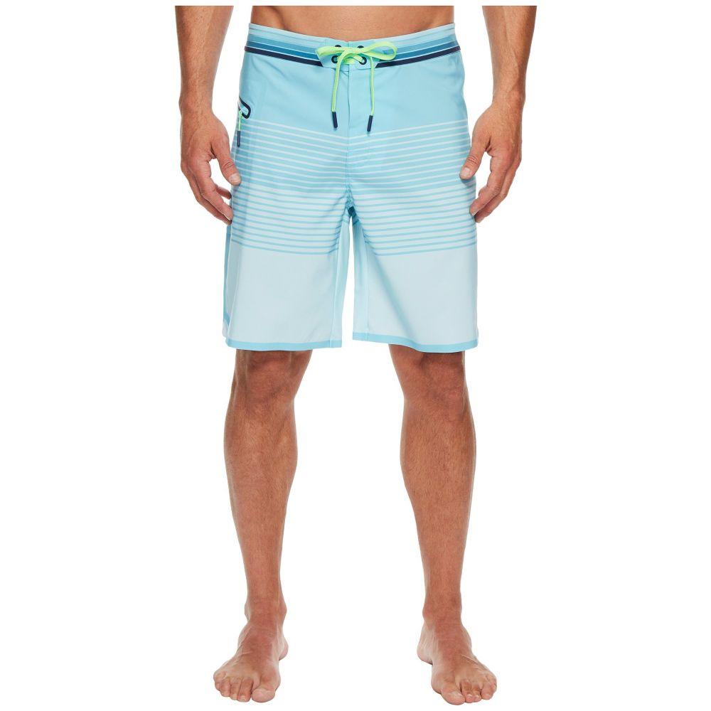 ヴィニヤードヴァインズ メンズ 水着・ビーチウェア 海パン【Sculpin Stripe Tech Boardshorts】Turquoise