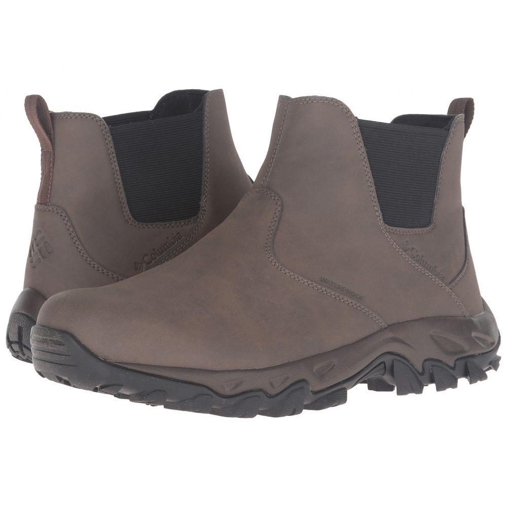 コロンビア メンズ ハイキング・登山 シューズ・靴【Newton Ridge Plus Slip Waterproof】Mud/Bright Copper