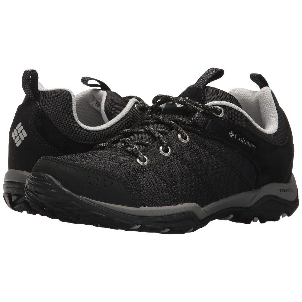 コロンビア レディース ハイキング・登山 シューズ・靴【Fire Venture Textile】Black/Grey Ice