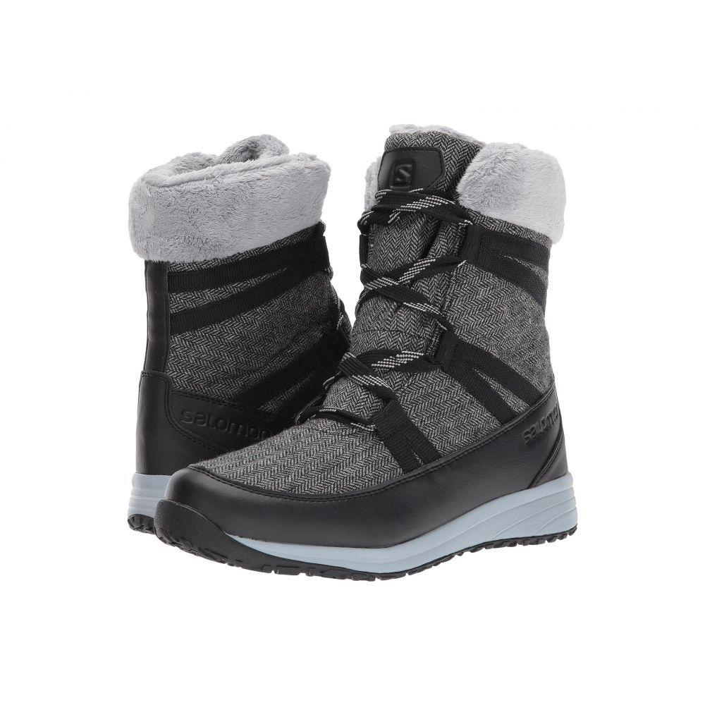 サロモン レディース ハイキング・登山 シューズ・靴【Heika CS WP】Black/Quarry/Alloy