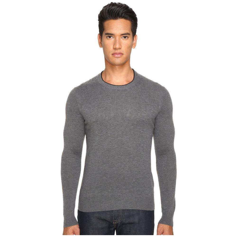 ジャック スペード メンズ トップス ニット・セーター【Jersey Stitch Crew Neck Sweater】Grey