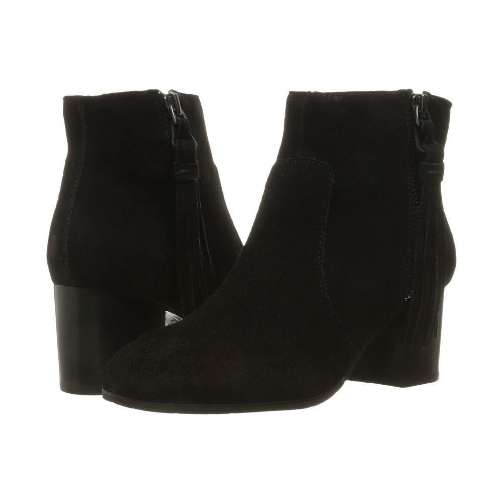 タハリ レディース シューズ・靴 ブーツ【Josie】Black Suede