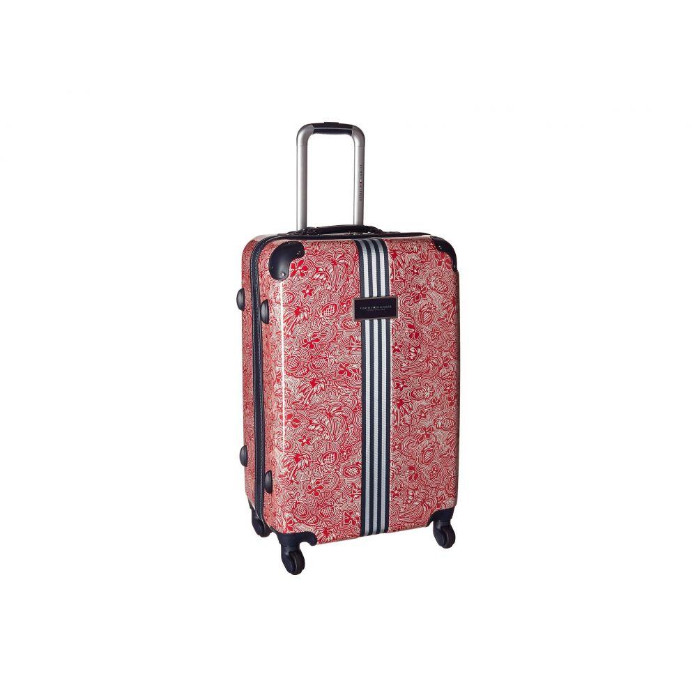トミー ヒルフィガー メンズ バッグ スーツケース・キャリーバッグ【TH-683 Pineapple Palm 25 Upright Suitcase】Red