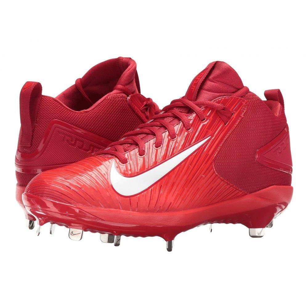 ナイキ メンズ 野球 シューズ・靴【Trout 3 Pro Baseball Cleat】Varsity Red/White/Light Crimson
