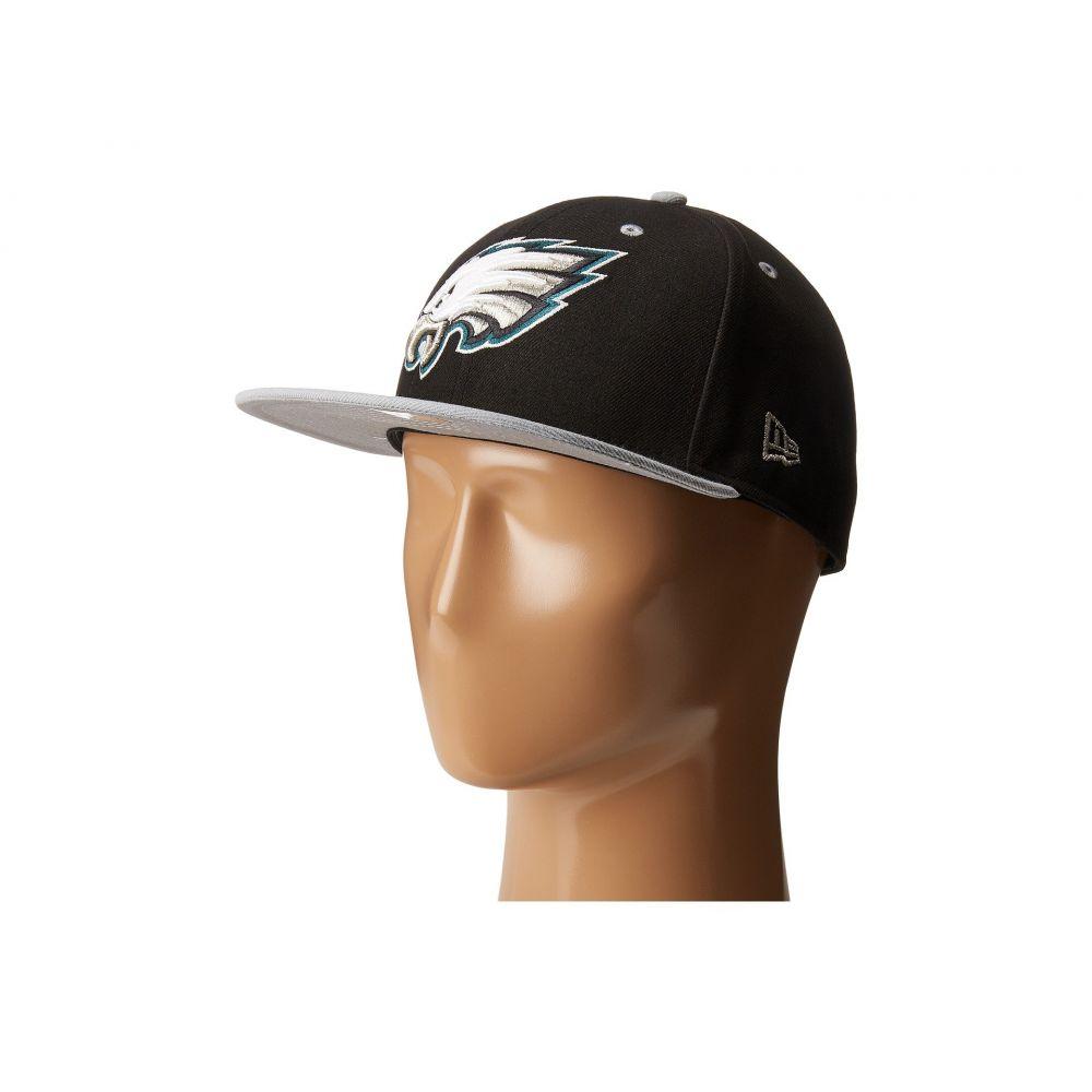 ニューエラ メンズ 帽子 キャップ【NFL Two-Tone Team Philadelphia Eagles】Black