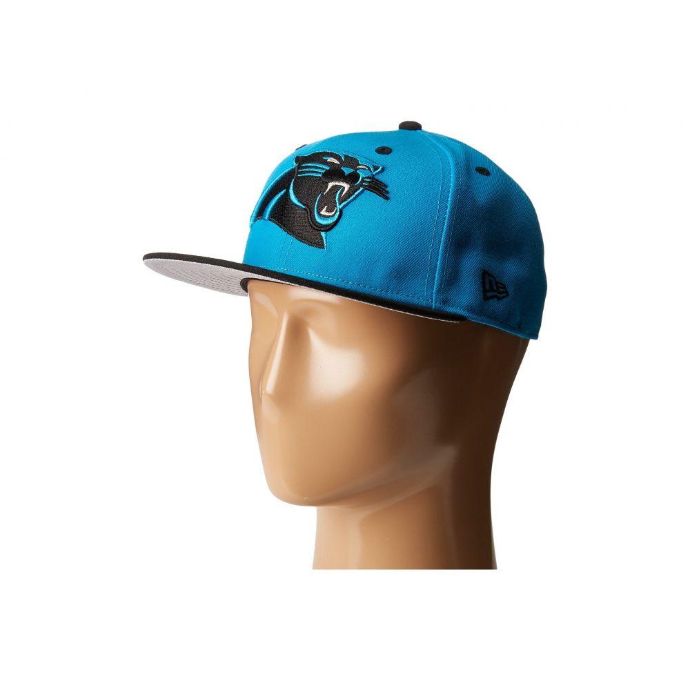 ニューエラ メンズ 帽子 キャップ【NFL Two-Tone Team Carolina Panthers】Bright Blue
