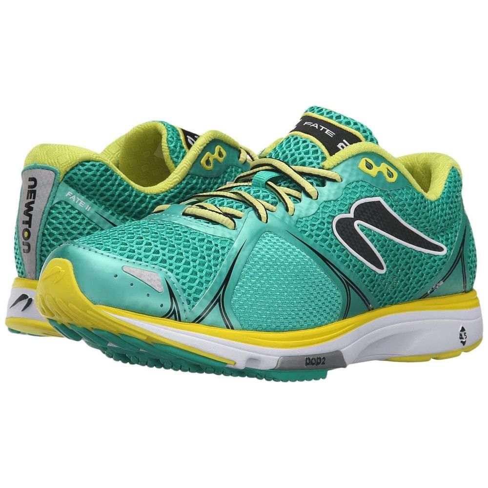 ニュートンランニング レディース ランニング・ウォーキング シューズ・靴【Fate II】Green/Yellow