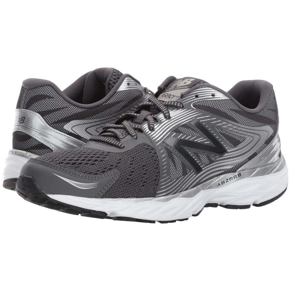 ニューバランス メンズ ランニング・ウォーキング シューズ・靴【680v4】Magnet/Silver