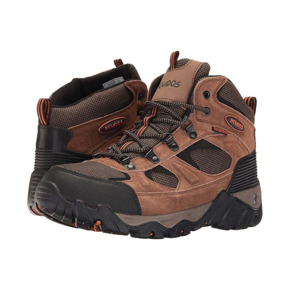 ネバドス メンズ ハイキング・登山 シューズ・靴【Mesa】Brown/Orange/Black