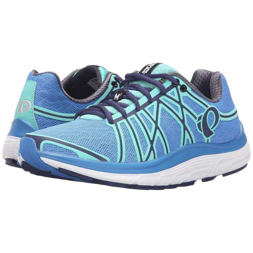 パールイズミ レディース ランニング・ウォーキング シューズ・靴【EM Road M 3 v2】Sky Blue/Aqua Mint