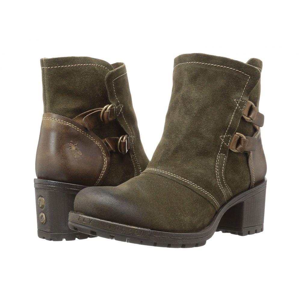 フライロンドン レディース シューズ・靴 ブーツ【Lory048Fly】Sludge/Olive Oil Suede/Rug
