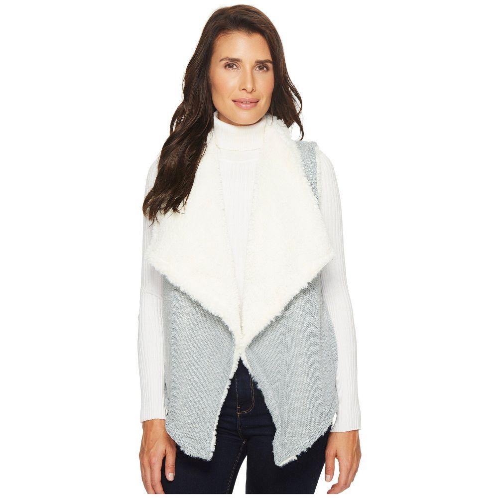モドオードック レディース トップス ベスト・ジレ【Sweater and Faux Fur Reversible Vest】Falcon
