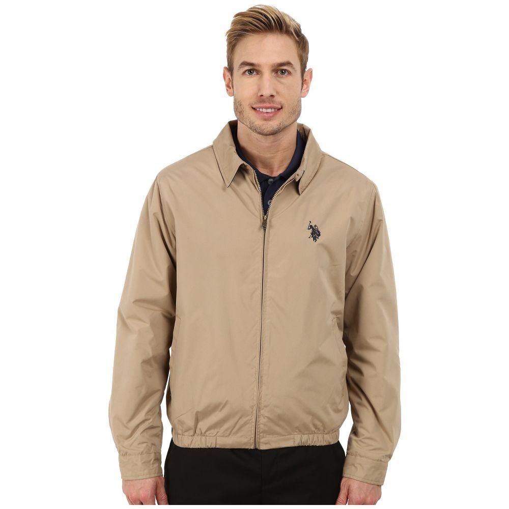 792aad56eb37c6 ユーエスポロアッスン メンズ ゴルフ アウター【Golf Jacket】Desert Khaki