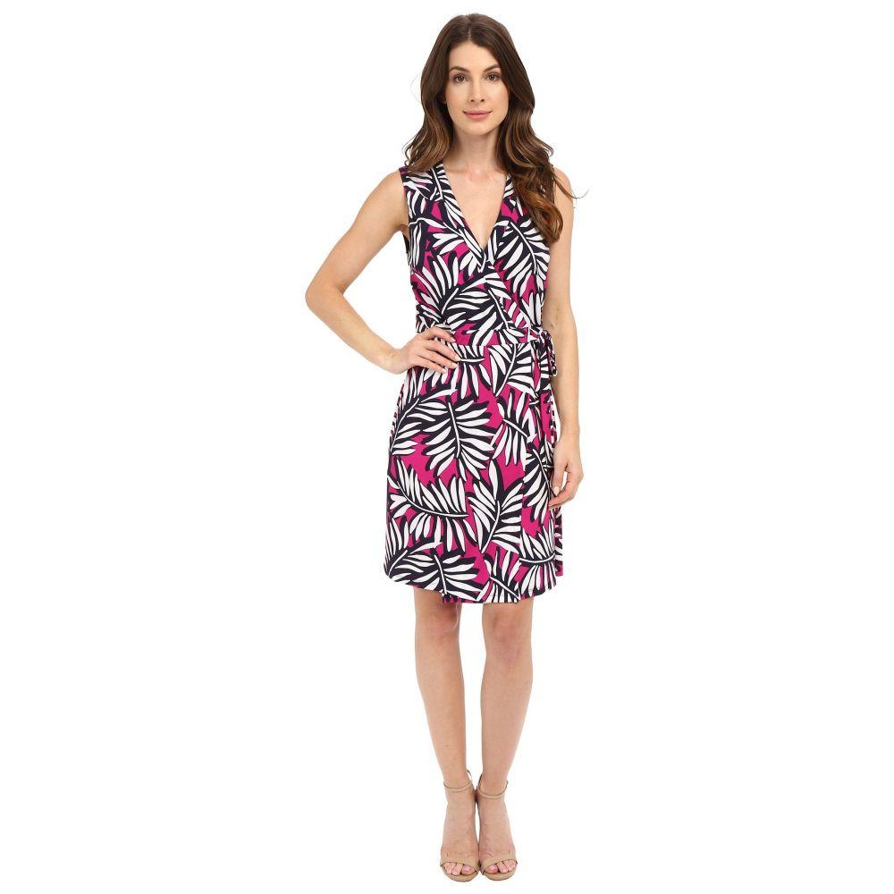 ランドリー レディース ワンピース・ドレス ワンピース【Palm Reader Sleeveless Wrap Dress】Electric Pink
