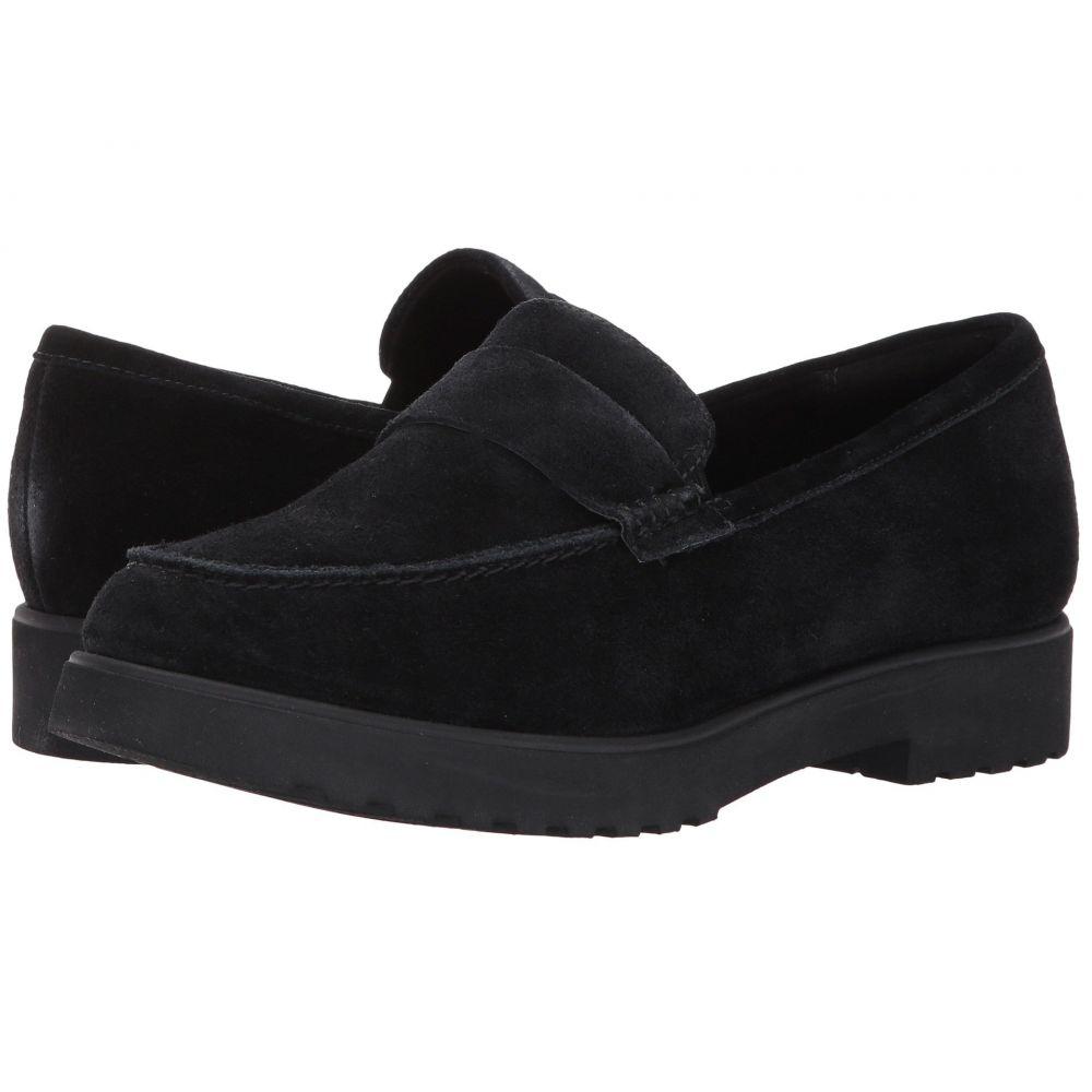 クラークス レディース シューズ・靴【Bellevue Hazen】Black Suede