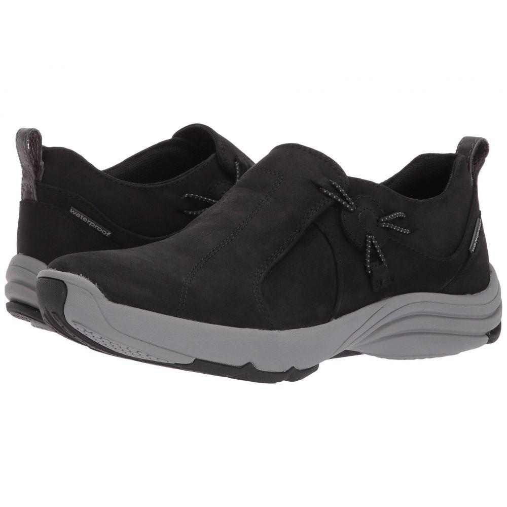 クラークス レディース シューズ・靴 スニーカー【Wave River】Black Nubuck