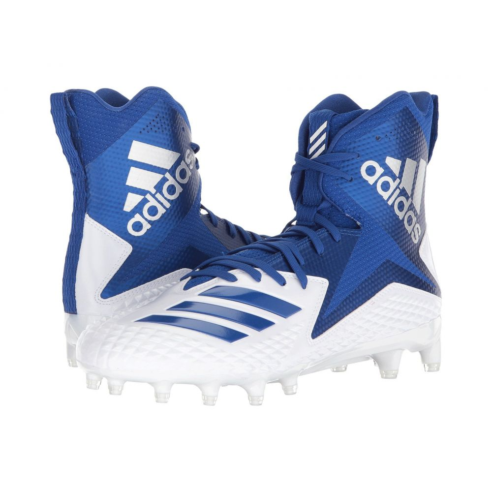 アディダス adidas メンズ アメリカンフットボール シューズ・靴【Freak x Carbon High】Footwear White/Collegiate Royal/Collegiate Royal