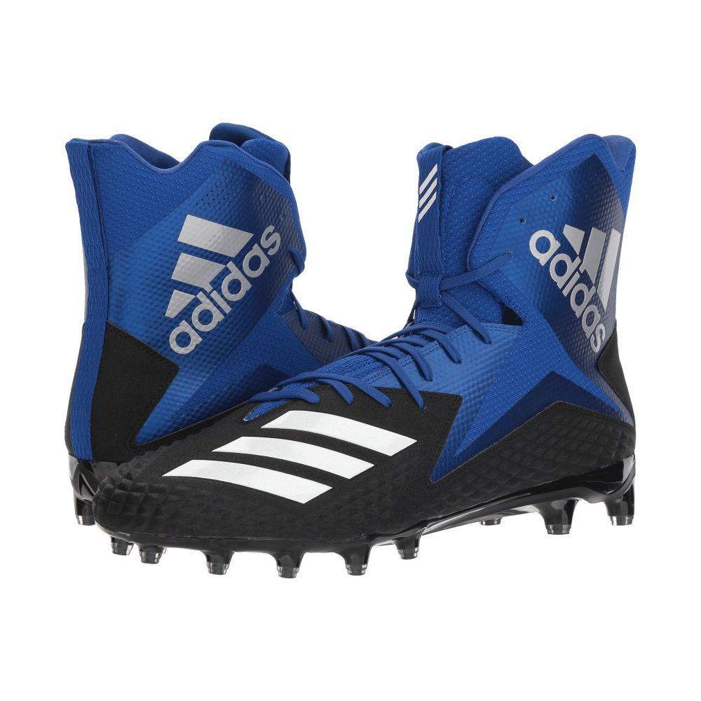 アディダス adidas メンズ アメリカンフットボール シューズ・靴【Freak x Carbon High】Core Black/Footwear White/Collegiate Royal