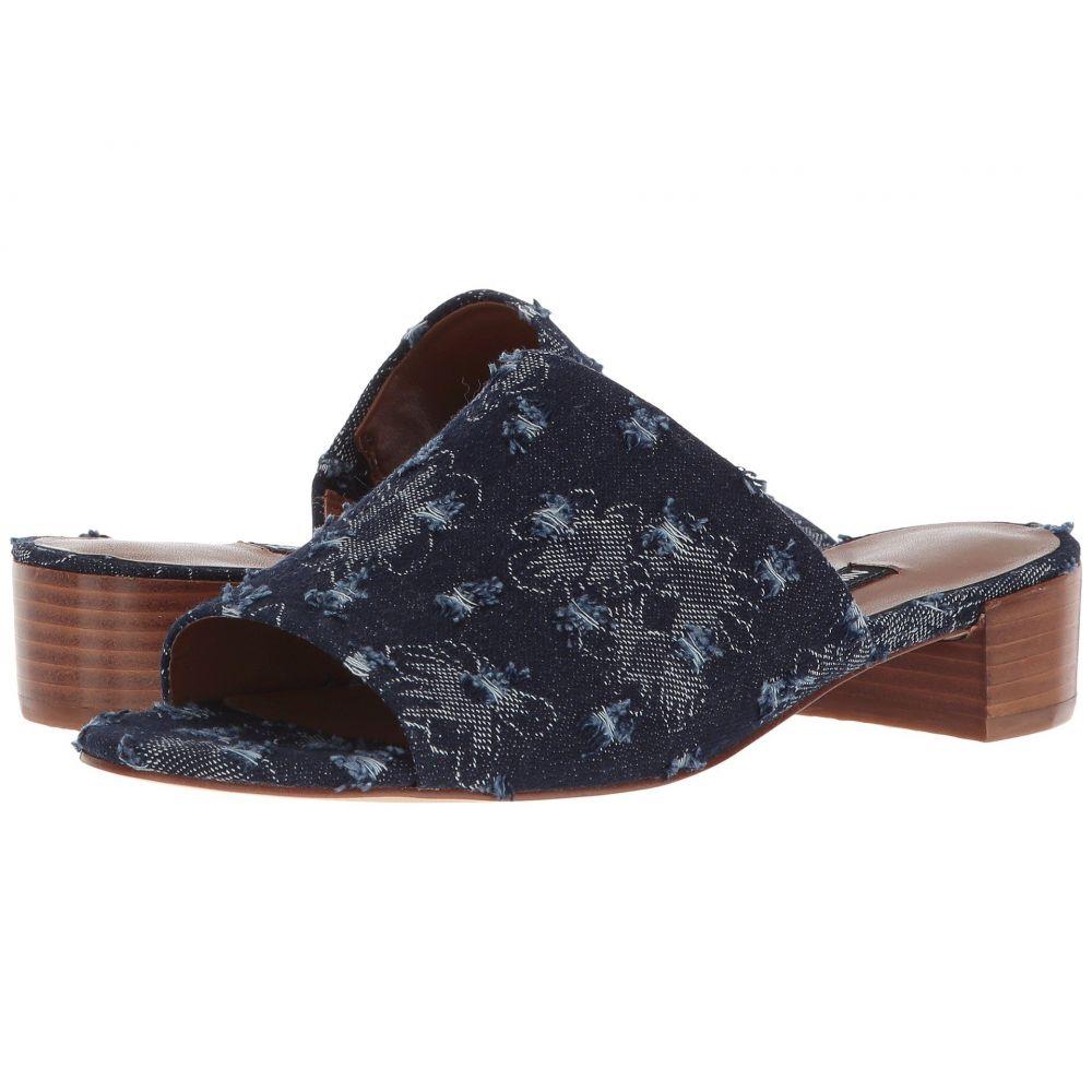 ナインウェスト Nine West レディース シューズ・靴 サンダル・ミュール【Raissa Slide Sandal】Blue Denim
