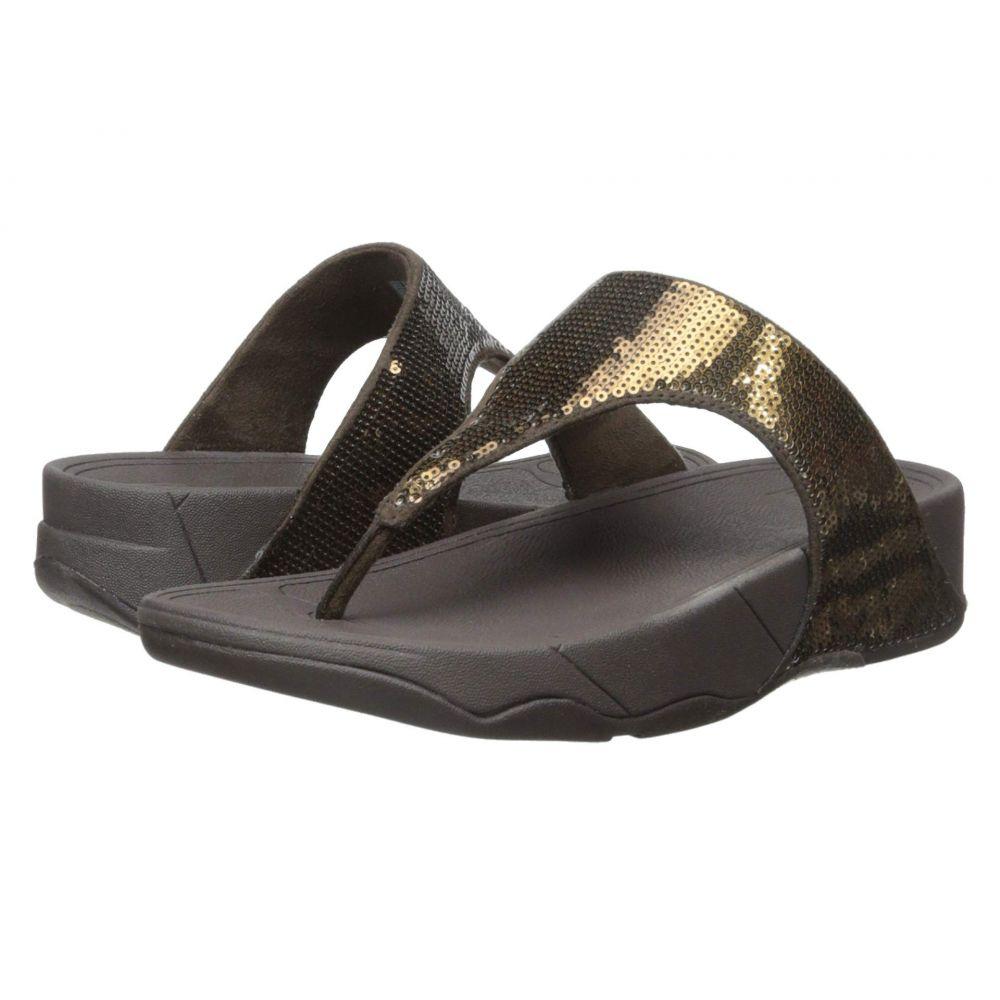 フィットフロップ FitFlop レディース シューズ・靴 ビーチサンダル【Electra Classic Toe Post】Bronze