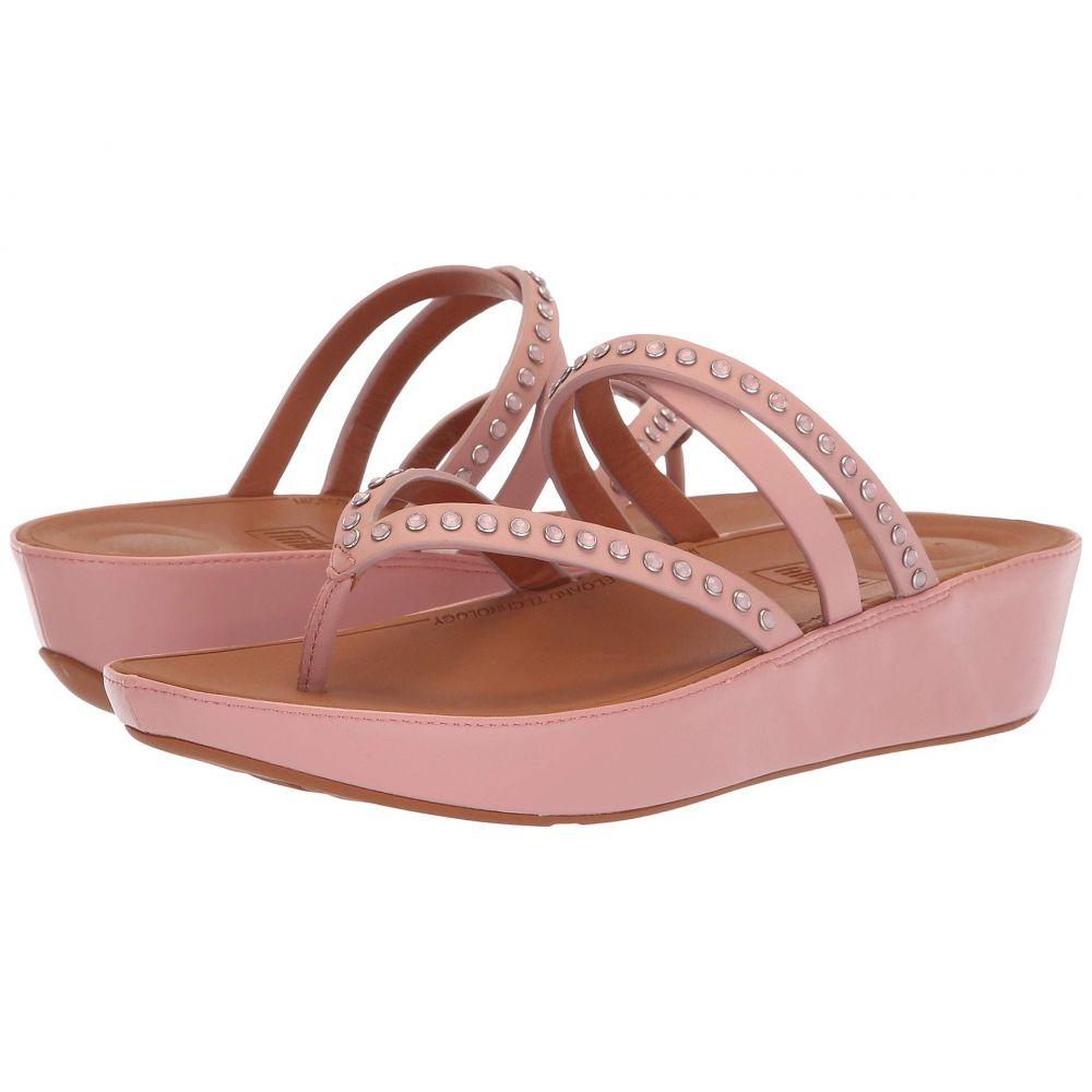 フィットフロップ FitFlop レディース シューズ・靴 ビーチサンダル【Linny Crisscross Toe-Thong Sandals - Crystal】Dusky Pink
