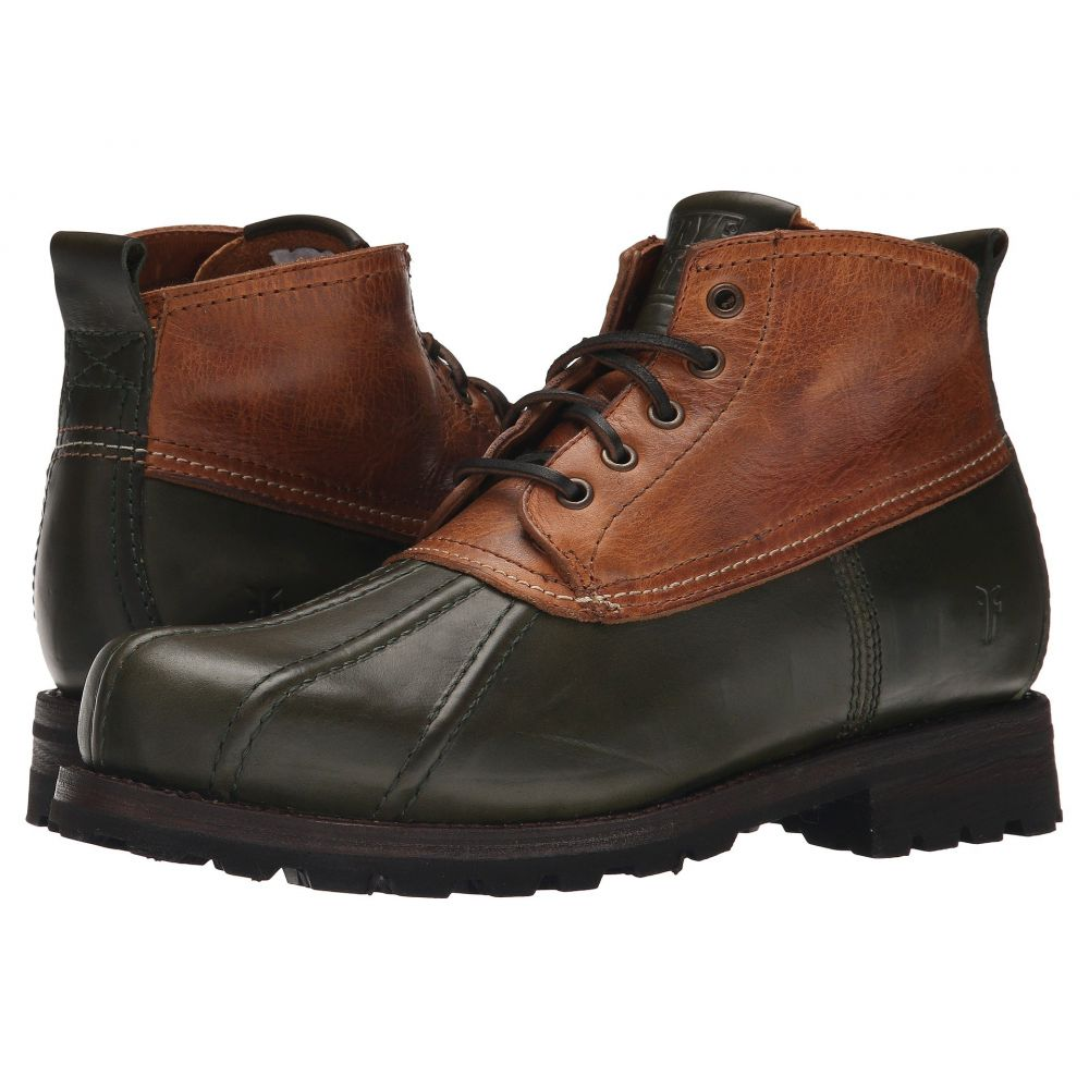 フライ Frye メンズ シューズ・靴 レインシューズ・長靴【Warren Duckboot】Forest Multi Smooth Full Grain/Washed Vintage Leather