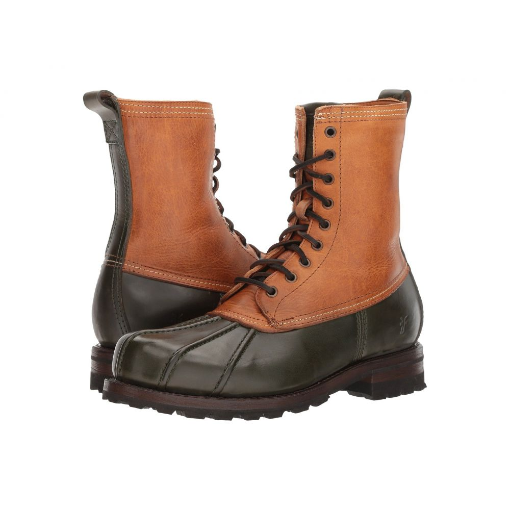 フライ Frye メンズ シューズ・靴 レインシューズ・長靴【Warren Duckboot】Forest Multi WP Smooth Pull Up/Shearling Lined