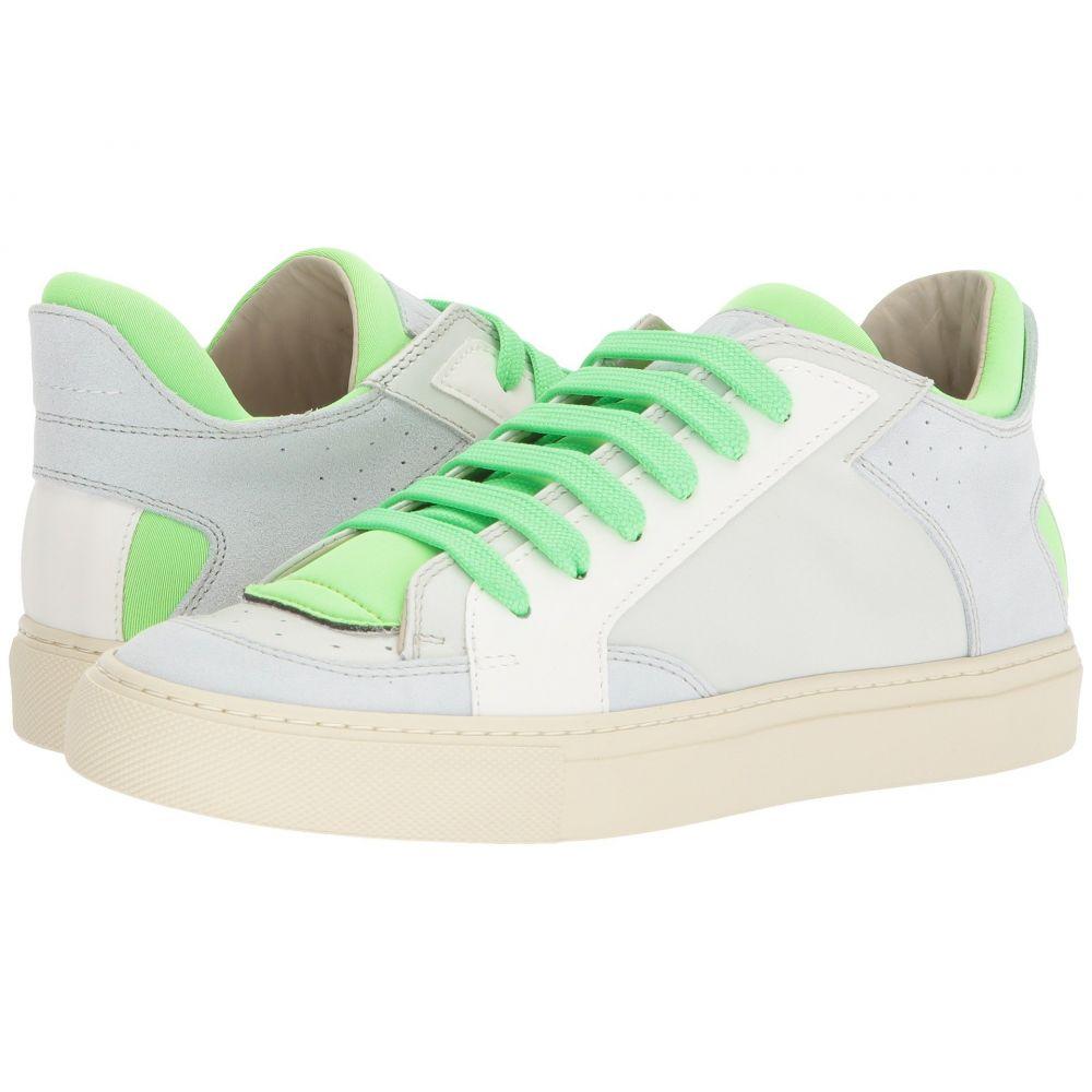 メゾン マルジェラ MM6 Maison Margiela レディース シューズ・靴 スニーカー【Neon Pop Low Trainer】White/Green