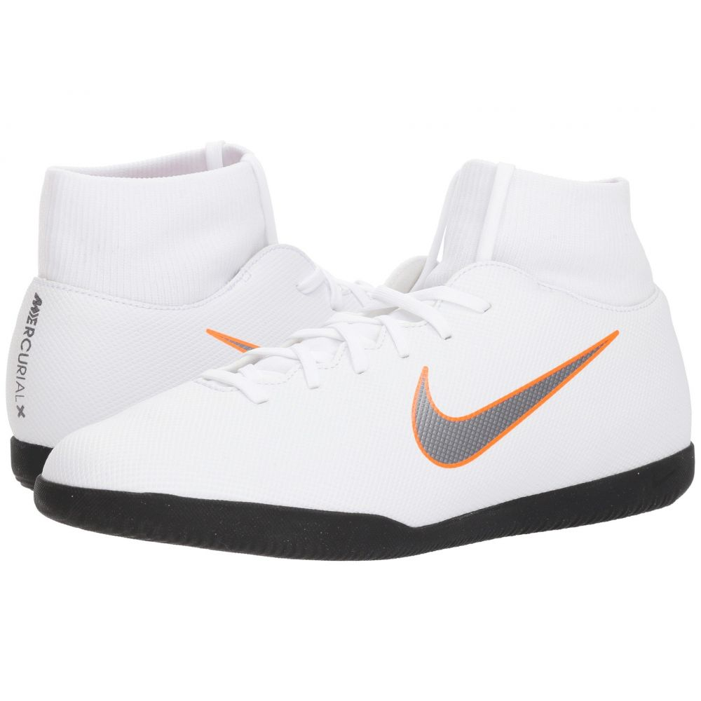 ナイキ Nike メンズ シューズ・靴【SuperflyX 6 Club IC】White/Metallic Cool Grey/Total Orange