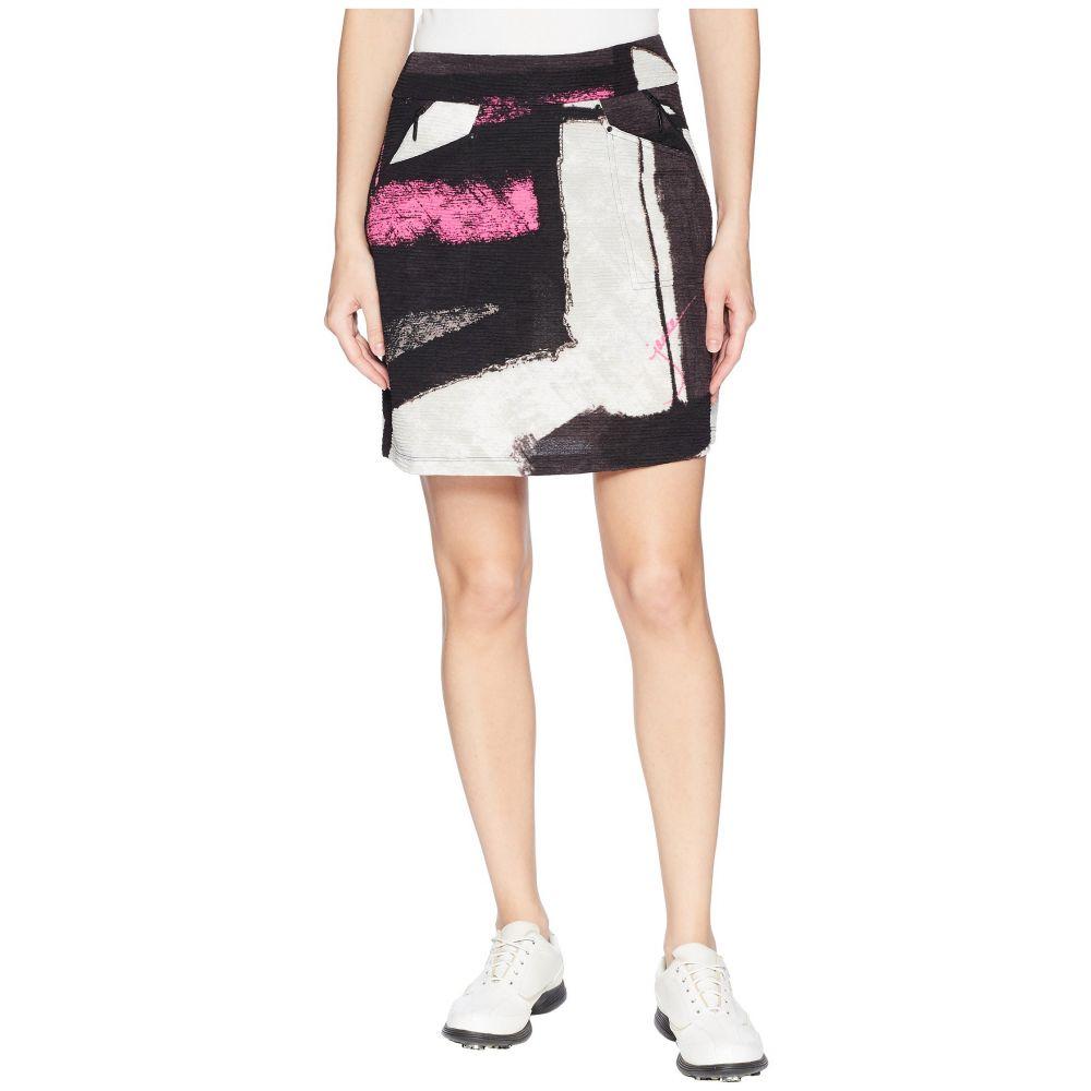 ジェイミー サドック Jamie Sadock レディース スカート ミニスカート【Textured Knit Osaka Print Skort】Jet Black