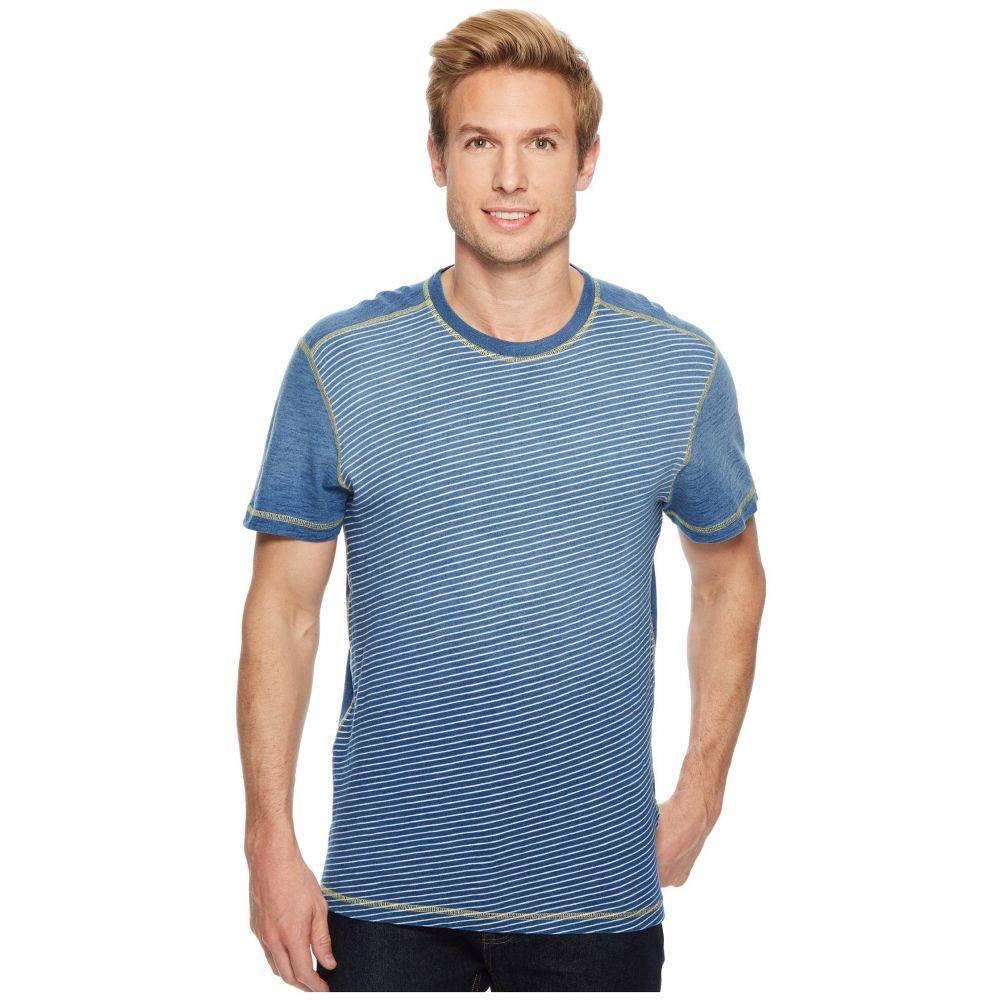 アガベ デニム Agave Denim メンズ トップス Tシャツ【Bundoran Short Sleeve Crew Neck T-Shirt】5 Year Fade