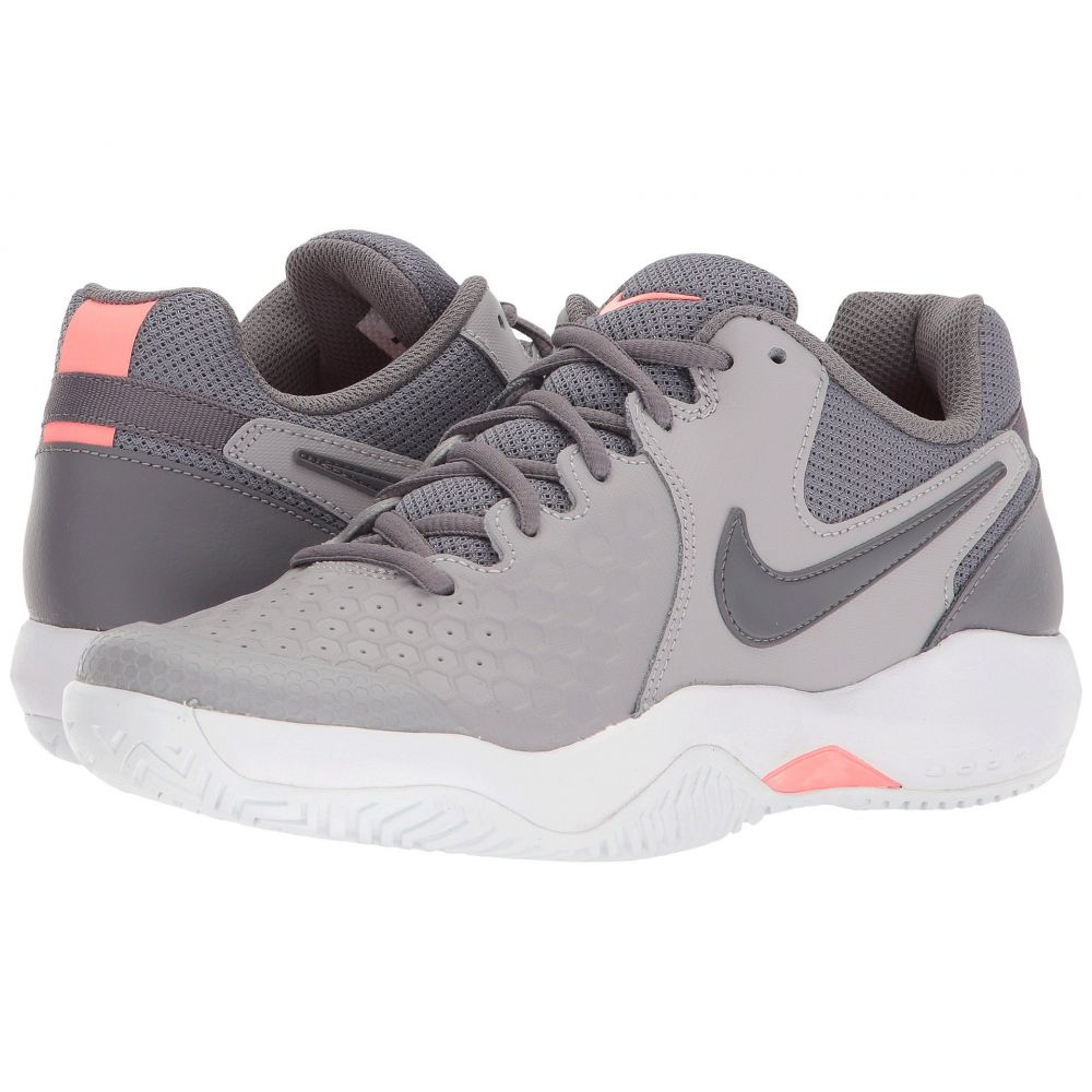 ナイキ Nike レディース テニス シューズ・靴【Air Zoom Resistance】Atmosphere Grey/Gunsmoke/Lava Glow/White