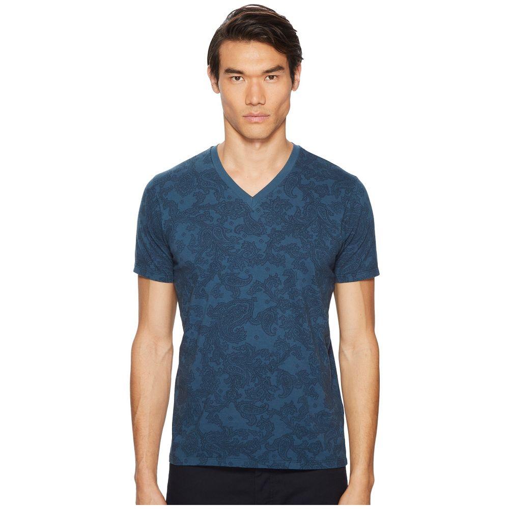 エトロ Etro メンズ トップス Tシャツ【Blossom T-Shirt】Navy