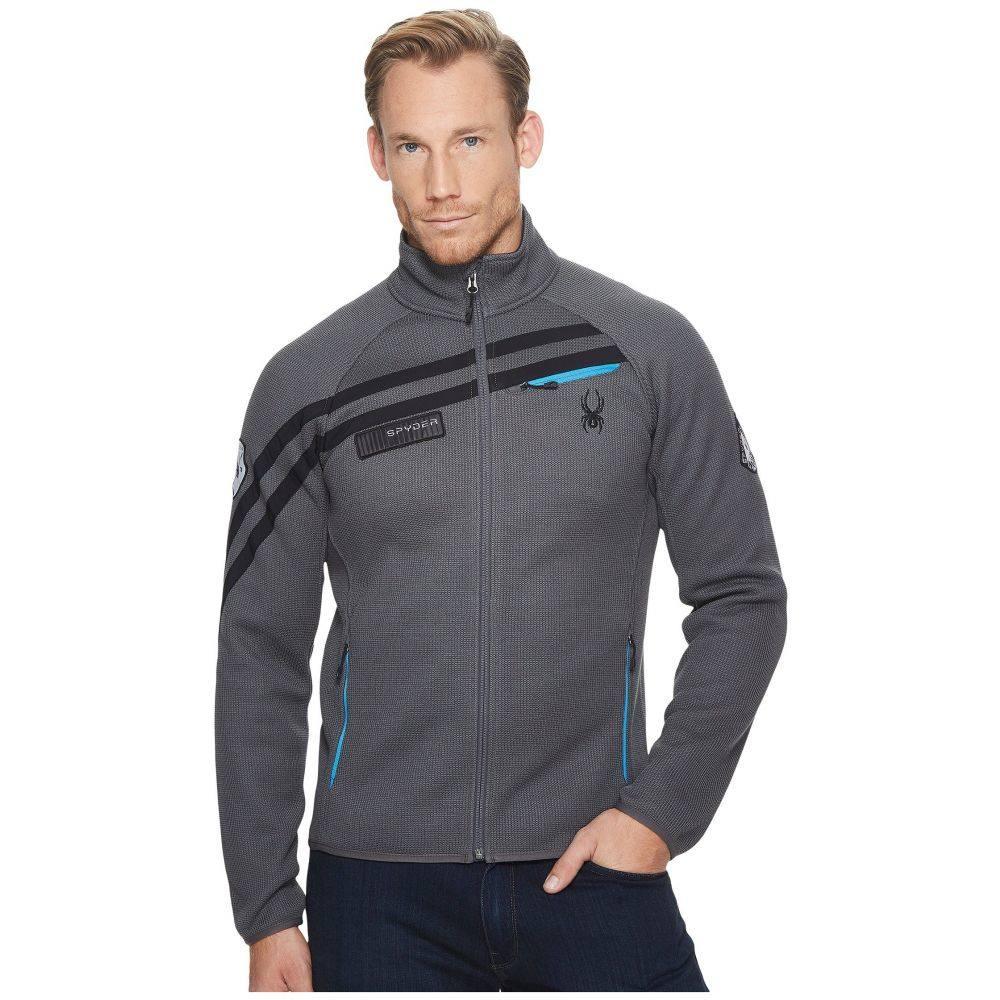 スパイダー Spyder メンズ トップス カーディガン【Wengen Full Zip Midweight Stryke Jacket】Polar