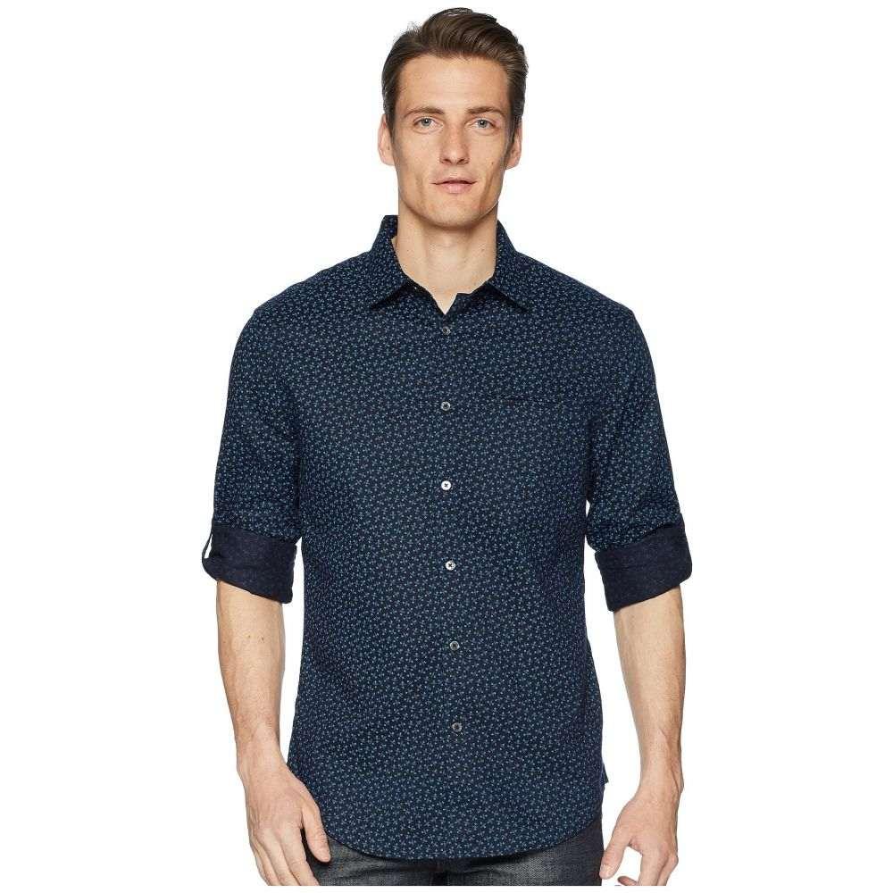 ジョン バルベイトス John Varvatos Collection メンズ トップス シャツ【Slim Fit Sport Shirt W375U1】Navy