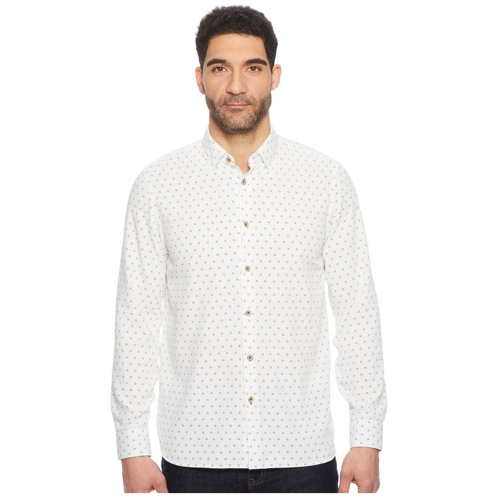 テッドベーカー Ted Baker メンズ トップス シャツ【Ilensky Diamond Print Shirt】White
