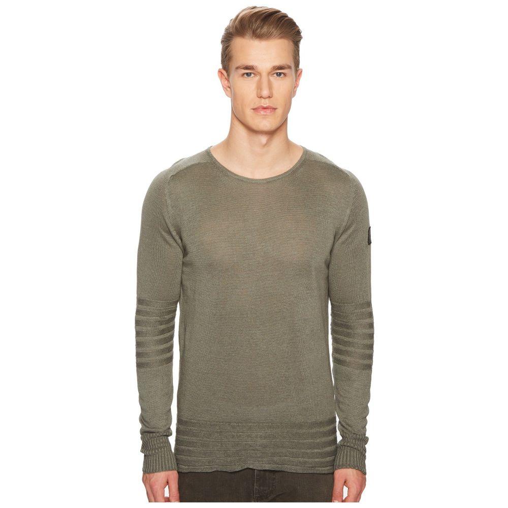 ベルスタッフ BELSTAFF メンズ トップス ニット・セーター【Exford Fine Gauge Linen Sweater】Slate Green