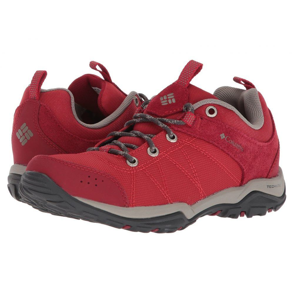 コロンビア Columbia レディース ハイキング・登山 シューズ・靴【Fire Venture Textile】Mountain Red/Kettle