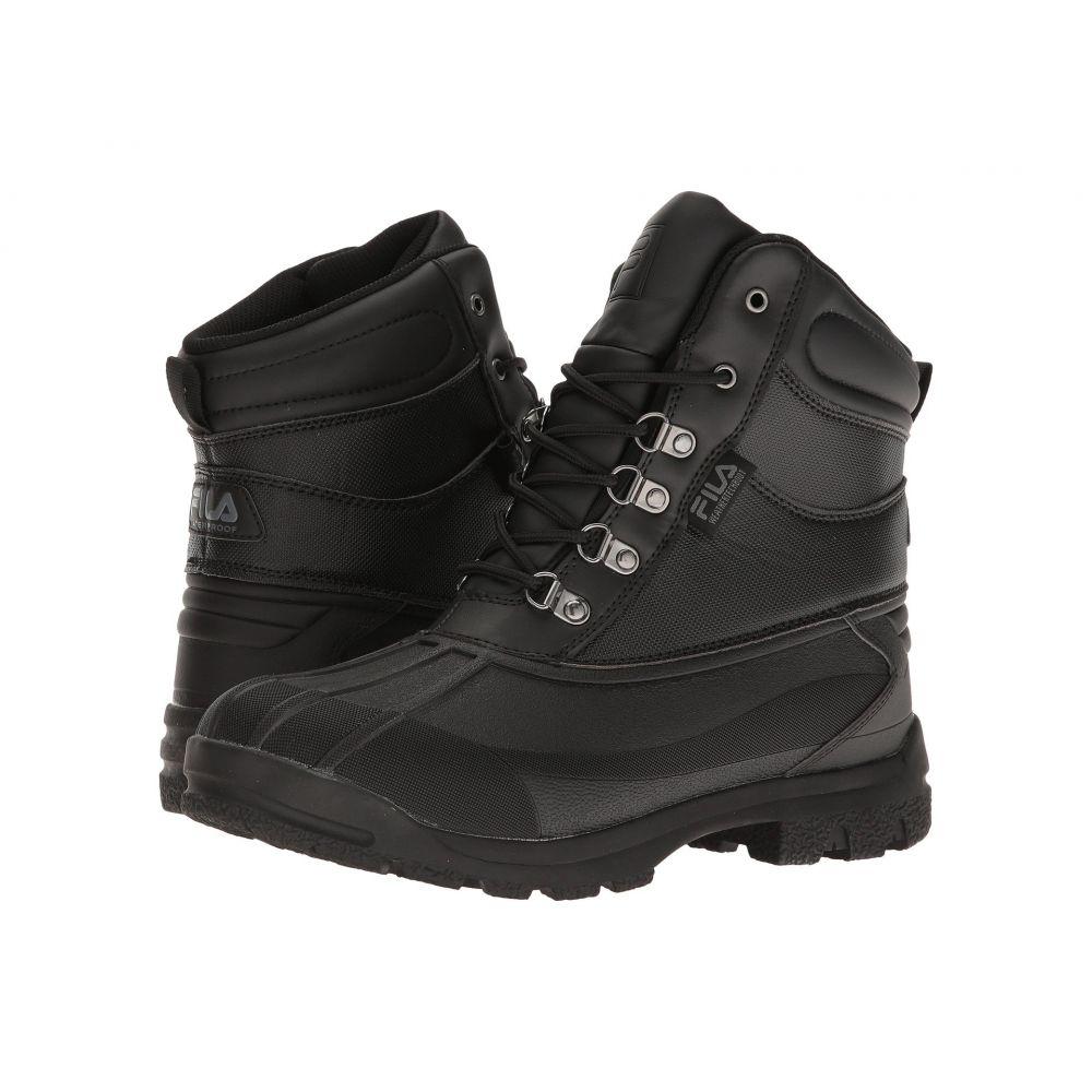 フィラ Fila メンズ ハイキング・登山 シューズ・靴【WeatherTech Extreme】Black/Black/Gum