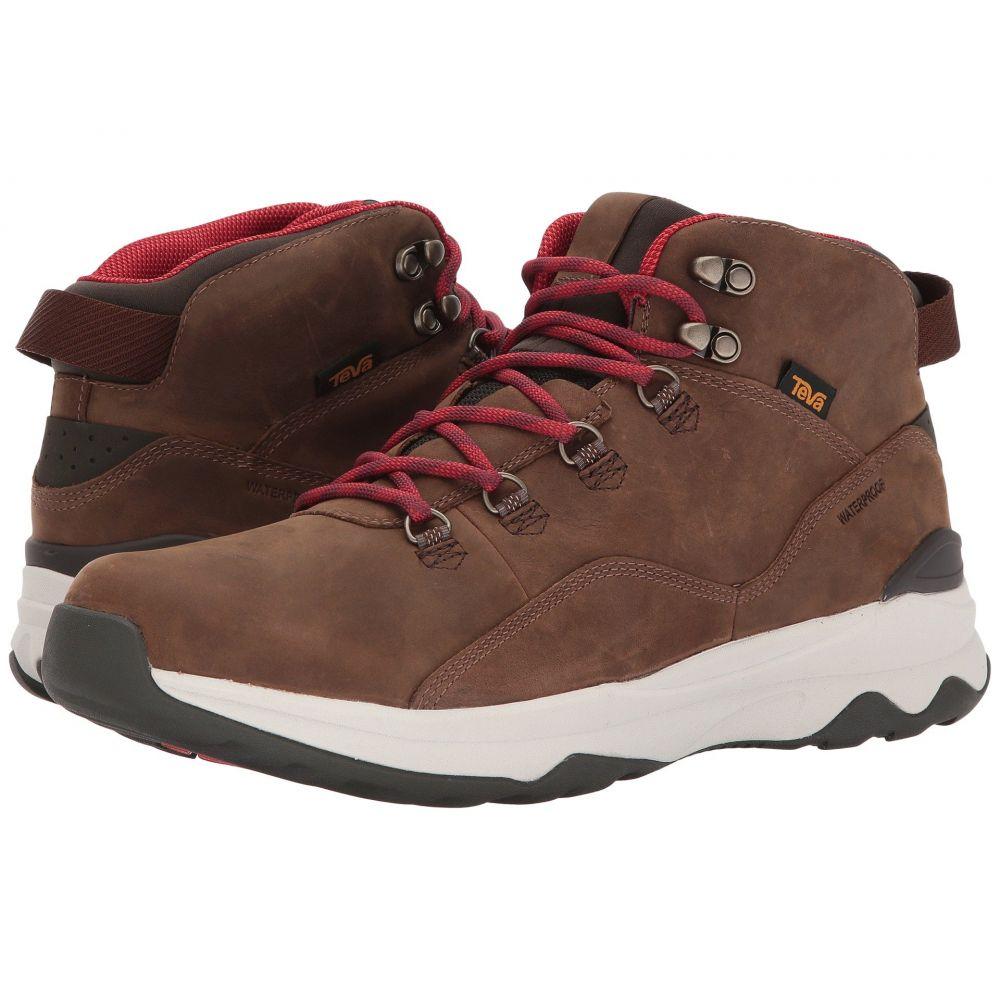 テバ Teva メンズ ハイキング・登山 シューズ・靴【Arrowood Utility Mid】Brown