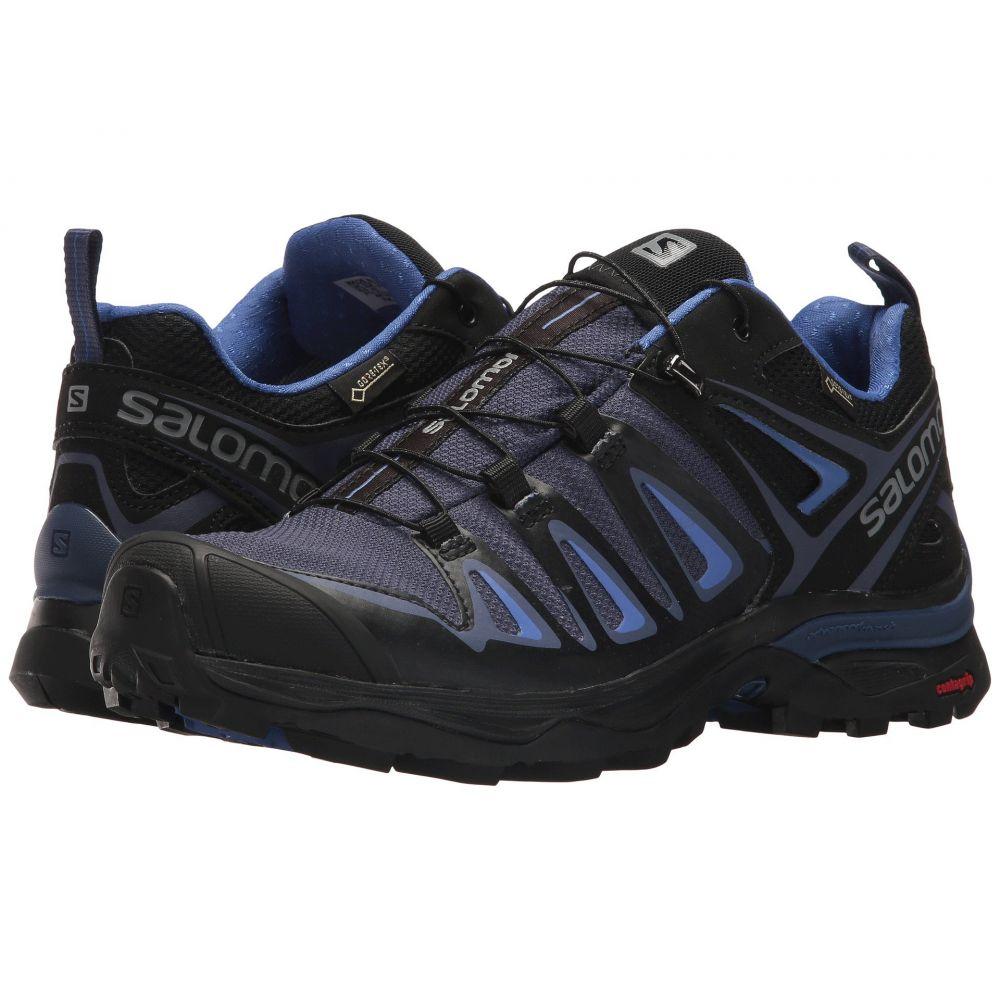 最初の  サロモン Salomon レディース ハイキング Blue・登山 シューズ Ultra・靴【X 3 Ultra 3 GTX】Crown Blue/India Ink/Amparo Blue, 3244:21ff20ff --- hortafacil.dominiotemporario.com