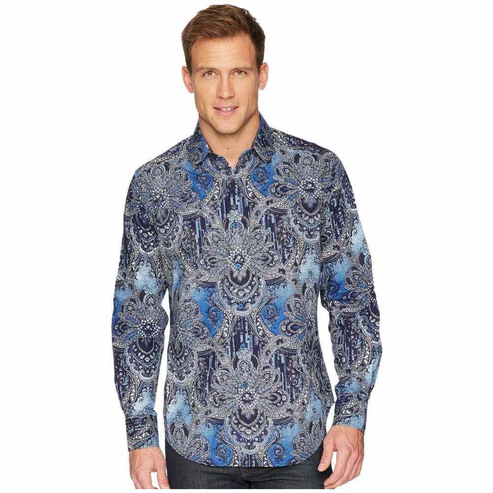 ロバートグラハム Robert Graham メンズ トップス シャツ【Rivero Long Sleeve Woven Shirt】Blue