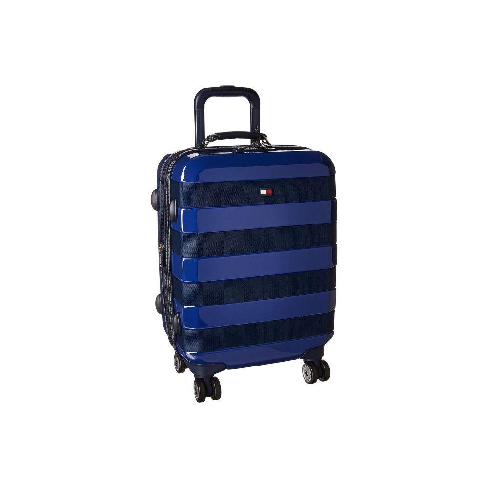 トミー ヒルフィガー Tommy Hilfiger メンズ バッグ スーツケース・キャリーバッグ【Rugby Stripe 21 Upright Suitcase】Navy/Royal